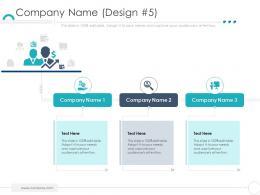 Company Ethics Company Name Design Company Ppt Mockup
