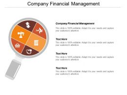 Company Financial Management Ppt Powerpoint Presentation File Background Cpb