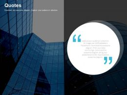 Company For Business Communication Quotes Powerpoint Slides