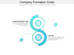 Company Formation Costs Ppt Powerpoint Presentation Model Layout Cpb