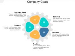 Company Goals Ppt Powerpoint Presentation Inspiration Infographic Template Cpb