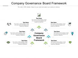 Company Governance Board Framework Ppt Powerpoint Presentation Professional Example Topics Cpb