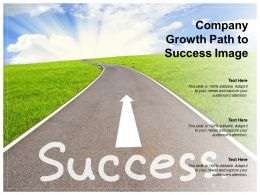 Company Growth Path To Success Image