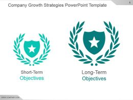 Company Growth Strategies Powerpoint Template