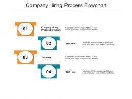 Company Hiring Process Flowchart Ppt Powerpoint Presentation Summary Example Cpb