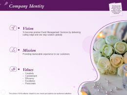 Company Identity Memorable Powerpoint Presentation Master Slide