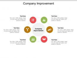 Company Improvement Ppt Powerpoint Presentation Pictures Introduction Cpb