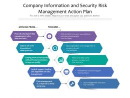 Company Information And Security Risk Management Action Plan