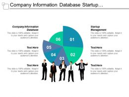 Company Information Database Startup Management Investment Financing Entrepreneurial Opportunities Cpb