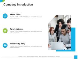 Company Introduction Adapt M2234 Ppt Powerpoint Presentation Summary Maker