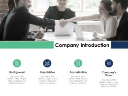 Company Introduction Capabilities Background Ppt Powerpoint Presentation Infographics Display