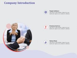 Company Introduction L1917 Ppt Powerpoint Presentation Summary Graphics Pictures