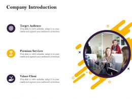 Company Introduction Needs Ppt Powerpoint Presentation Inspiration Slideshow