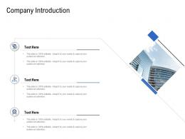 Company Introduction Pitch Deck To Raise Funding From Spot Market Ppt Pictures