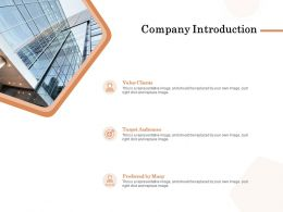 Company Introduction Ppt Powerpoint Presentation Styles Backgrounds