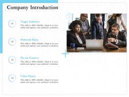 Company Introduction Preferred M1519 Ppt Powerpoint Presentation Slides Design Inspiration