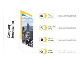 Company Introduction Preferred M736 Ppt Powerpoint Presentation File Files