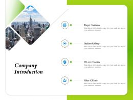 Company Introduction Preferred Many Ppt Powerpoint Presentation Inspiration