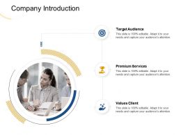 Company Introduction Premium M1960 Ppt Powerpoint Presentation Ideas