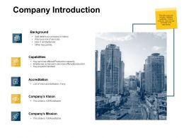 Company Introduction Production Capacity Ppt Powerpoint Presentation Pictures