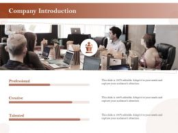 Company Introduction R468 Ppt Powerpoint Presentation Inspiration Graphics