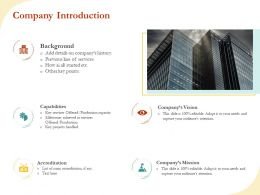 Company Introduction R492 Ppt File Format Ideas