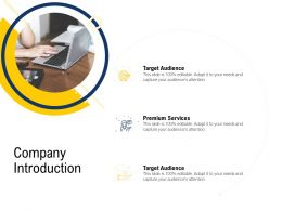 Company Introduction Target Audience M2502 Ppt Powerpoint Presentation Styles Example File
