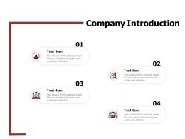 Company Introduction Target N73 Ppt Powerpoint Presentation Rules