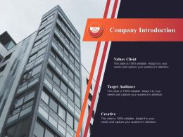 Company Introduction Values Client Ppt Powerpoint Presentation File Background