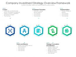 Company Investment Strategy Overview Framework