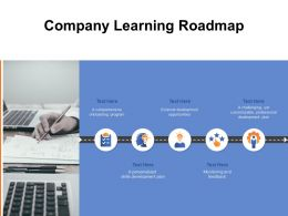 Company Learning Roadmap Ppt Powerpoint Presentation Slides