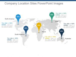 Company Location Sites Powerpoint Images