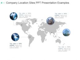 Company Location Sites Ppt Presentation Examples