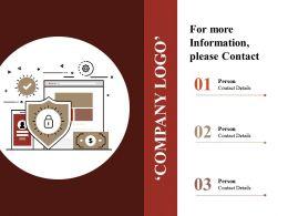 Company Logo Powerpoint Presentation Templates