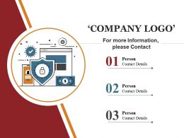 Company Logo Ppt Summary Designs
