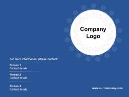 Company Logo Ppt Summary Master Slide