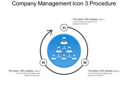Company Management Icon 3 Procedure