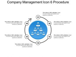 Company Management Icon 6 Procedure