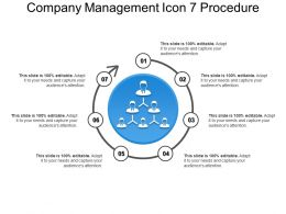Company Management Icon 7 Procedure