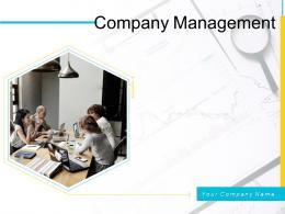 Company Management Powerpoint Presentation Slides