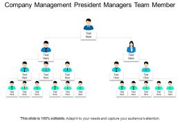 Company Management President Managers Team Member