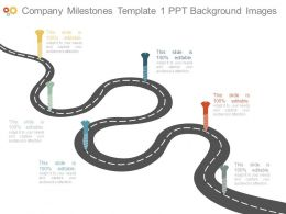 Company Milestones Template1 Ppt Background Images