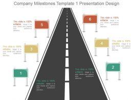 Company Milestones Template 1 Presentation Design