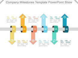 Company Milestones Template Powerpoint Show