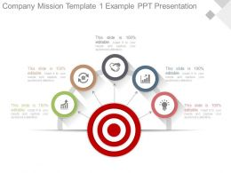 Company Mission Template1 Example Ppt Presentation