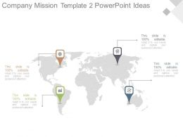 Company Mission Template2 Powerpoint Ideas