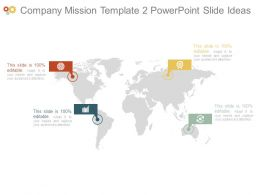 Company Mission Template2 Powerpoint Slide Ideas