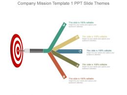 Company Mission Template 1 Ppt Slide Themes