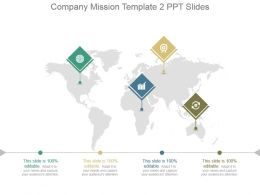 Company Mission Template 2 Ppt Slides