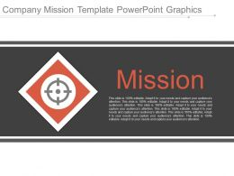 Company Mission Template Powerpoint Graphics